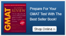 Prepare for your GMAT test with our best seller book!