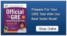 Prepare for your GRE test with our best seller book!