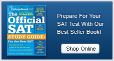 Prepare for your SAT test with our best seller book!